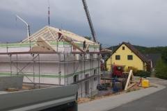 Kran für Dachstuhl