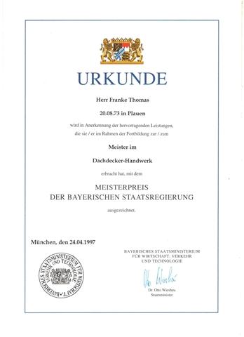 bayerischer Staatspreis_Thomas Franke