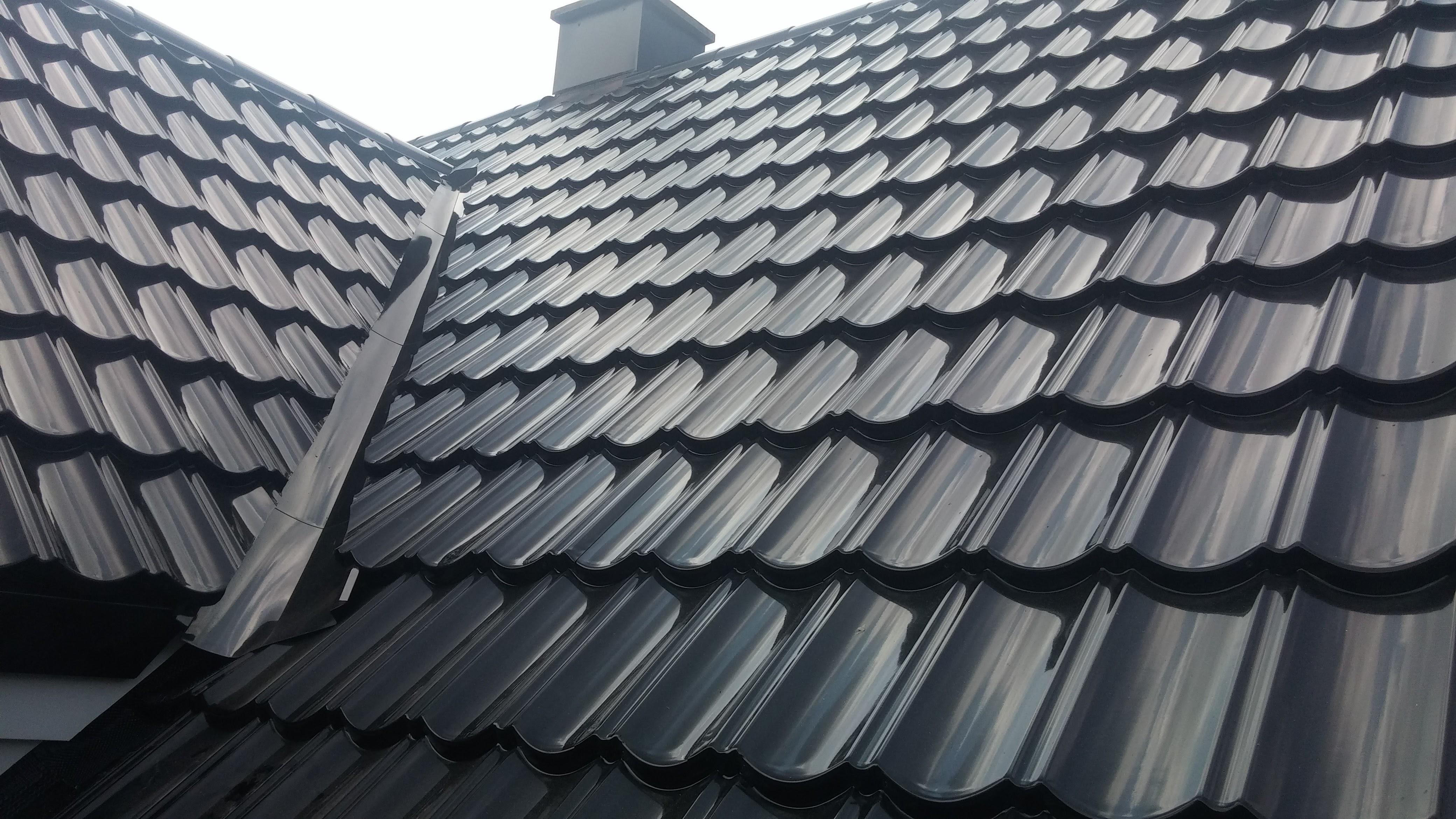 Detailansicht Dacheindekung ISOLA